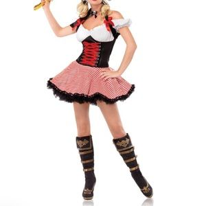 Sexy Pirate Costume Size M